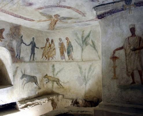 Janour-museum-roman-tomb-libya