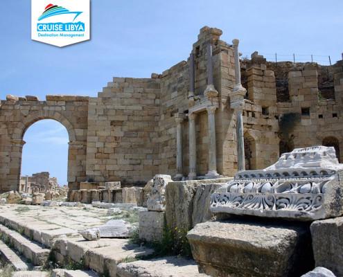 Leptis-magna-Roman-fountain