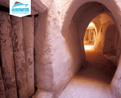 Ghadames-underground- corridors-libya
